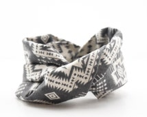 Baby Faux Infinity Scarf Drool Bib with Safety Snaps