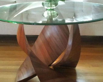Glass Coffee Table - 30""