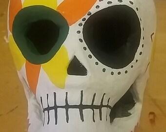 Sun and Moon Sugar Skull