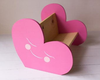 Wendy the Book Bench / book holder / toddler bench