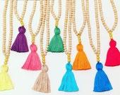 The Felix Tassel Necklace