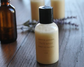 Face Wash-Honey and Lavender