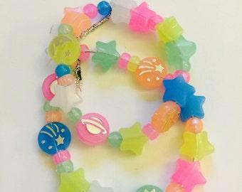 Kawaii Neon Bracelet