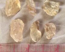 6 Facet Grade Oregon Sunstone Pieces