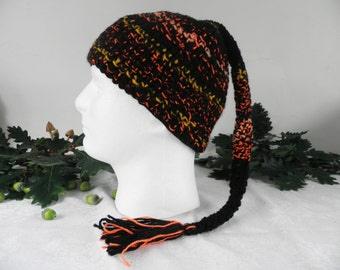 Night Fires Fairy Hand Crocheted  Hat  Size M