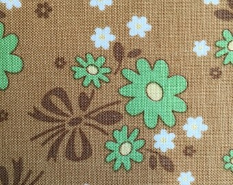 Calico Days Nutmeg Cotton  Fabric