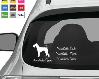 Airedale Decal