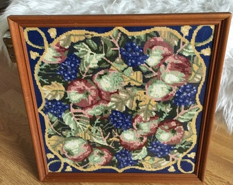 Framed Embroidery