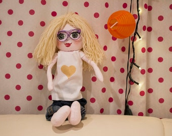 "Custom made blonde  doll ""mirabelka"""