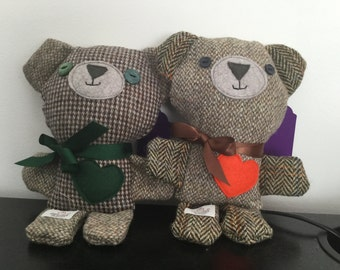Harris Tweed bears