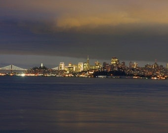 Looming Clouds Over San Francisco