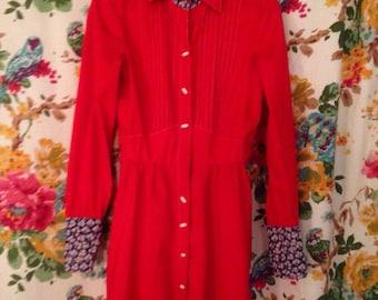 Scarlet & Daises Dress