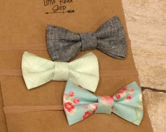 Mini Fabric Bows