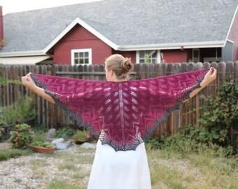 Custom Lace Shawl