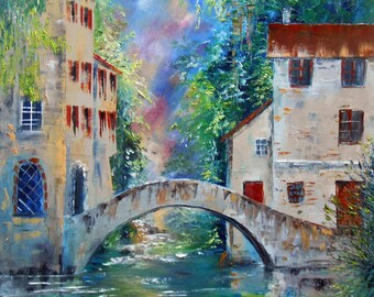 Painting  Bridge of Sighs
