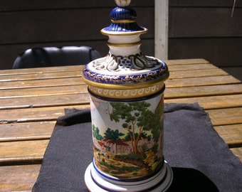 HANDPAINTED VASE
