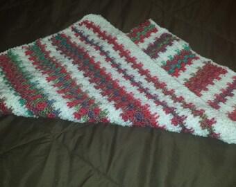 Soft Baby Girl Afghan, baby blanket, baby shower gift