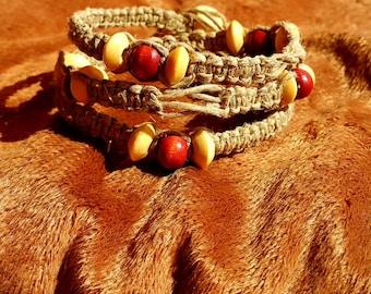Wooden Bead Wrap Bracelet