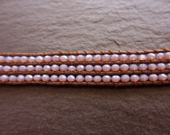 Lilac Crystal Bracelet
