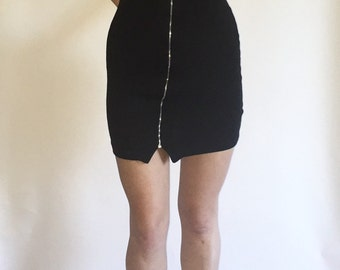 90s Ribbed Body Con Dress
