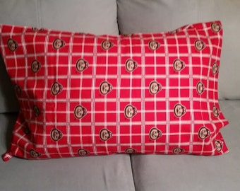 Ohio State Buckeyes Pillow Case