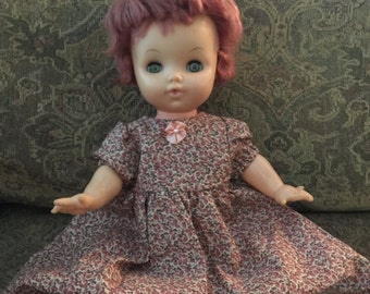 Vintage Redheaded Doll 1960s