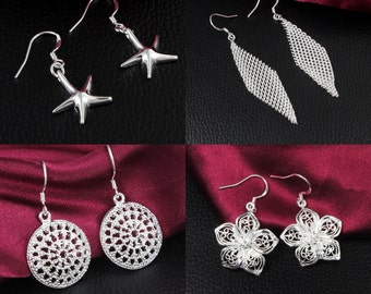 Fashion earrings - 4 Pairs - EML1510290536PM