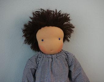 Waldorf doll boy 40cm / 16 inch - Merlin