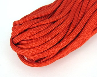 Parachute cord 10 m 5 mm Red