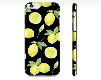 iPhone 6 Case - iPhone 5 Case - Samsung Galaxy S5 Case - Lemons iPhone Case - Lemons Phone Case - Citrus iPhone Case