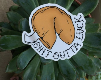 Misfortune Cookie- Sticker