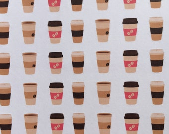 Coffee Stickers  Planner Stickers | L315