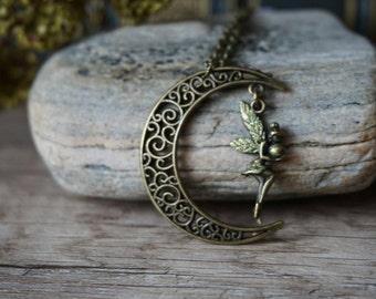 Fairy Moon - bronze