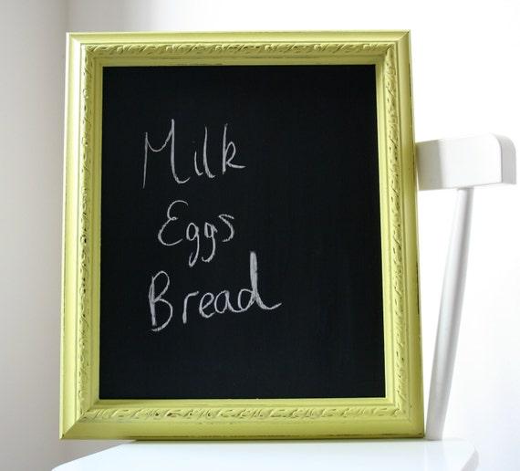 Chalkboard Framed Kitchen Chalkboard