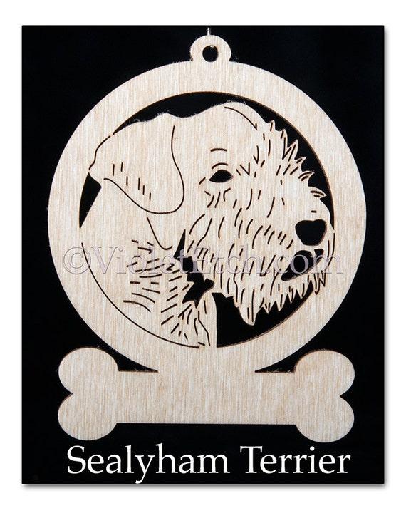 Sealyham-Sealyham Ornament-Sealyham Gift-Free Personalization
