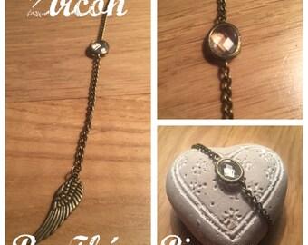 Zircon bracelet