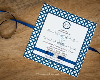 MOON RIVER Wedding Invitation Collection