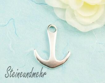 1pcs. anchor antique silver pl. 35mm pendant art.2752