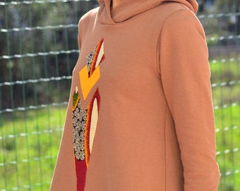 MAYA Hooded Sweater / 100% Organic Cotton