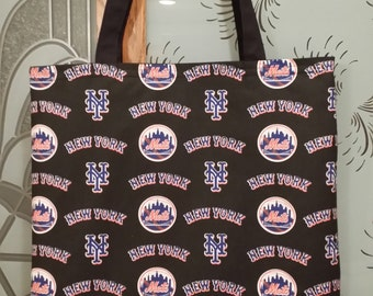 Lets Go Mets Tote Bags