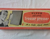 Vintage New Old Stock 1950s Pifco Electric Trouser Press in Exceptional Condition