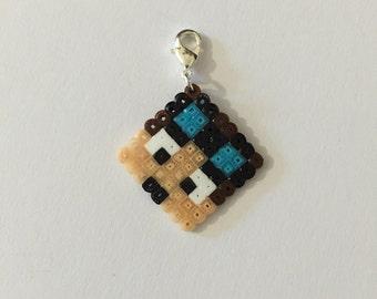 Minecraft inspired DanTDM (the diamond minecart) Charm