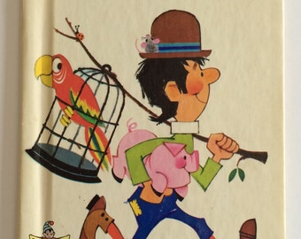 1966 Jack Sprat Elf Child's Story Book