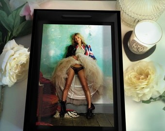 Kate Moss Mario Testino Photo Tray - Black