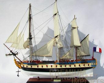 La Fayette Hermione Model Ship