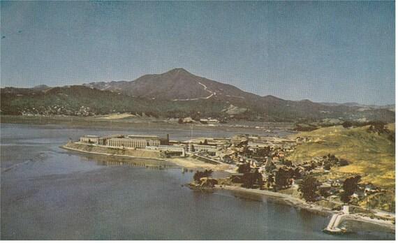 San Quentin, Calif - San Quentin Prison - Postcard