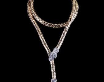Snake necklace, Fashion Chokers Snake necklace, 18 k Gold Snake necklace