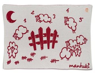 Manta night red - Mantuki
