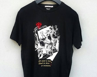 5% sales Mobile Suit GUNDAM Zakus Psycho Gundam Japan Anime Akira Robot Collectibles Black T shirt Size XL