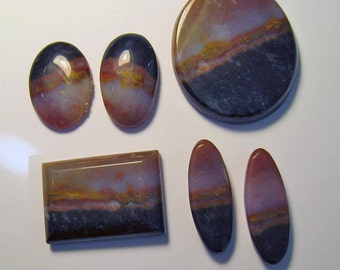 CABOCHONS ** Sardonyx Cabs Ready for Your Setting
